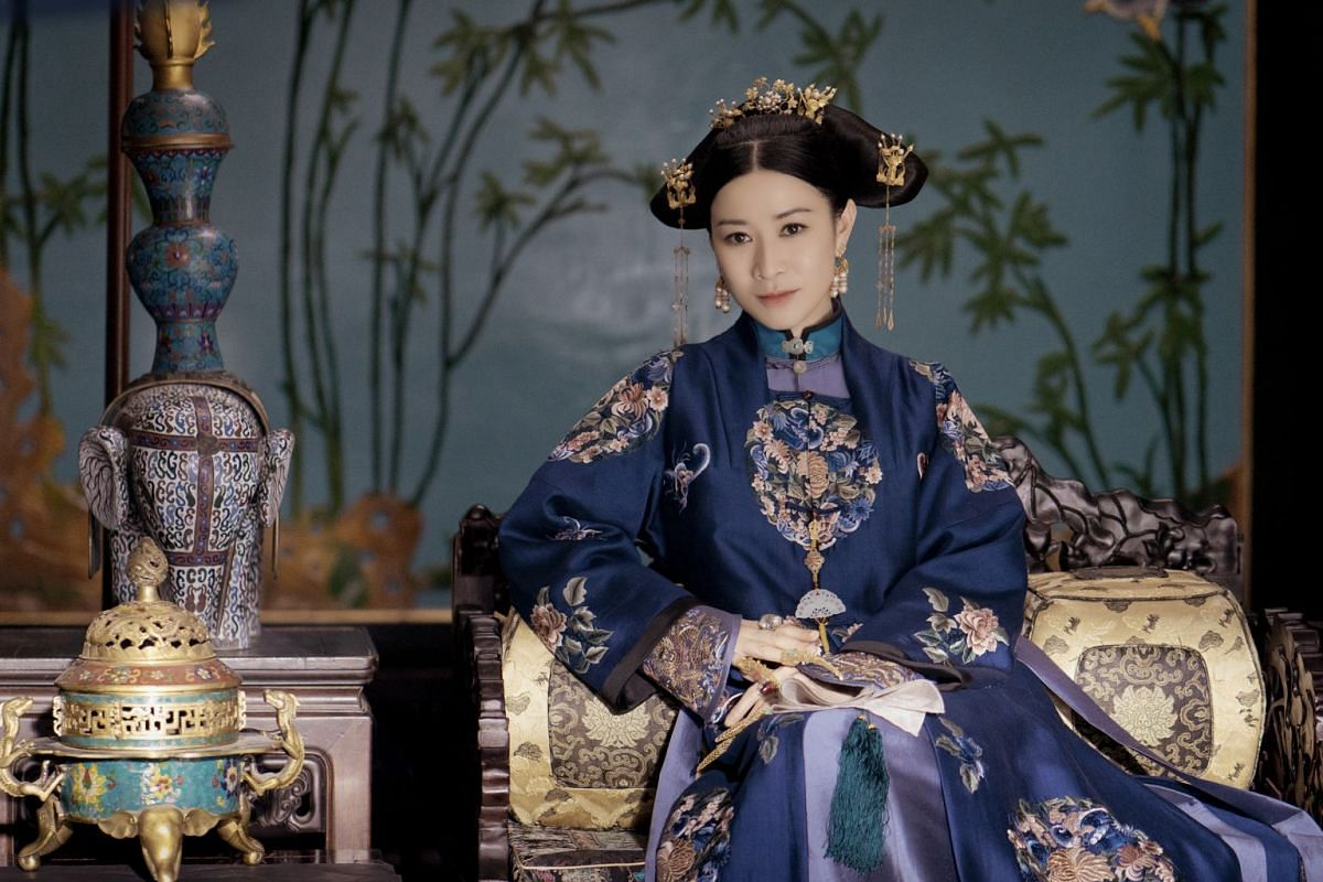 Charmaine Sheh is the step-empress Hoifa-Nara in Story Of Yanxi Palace (above).