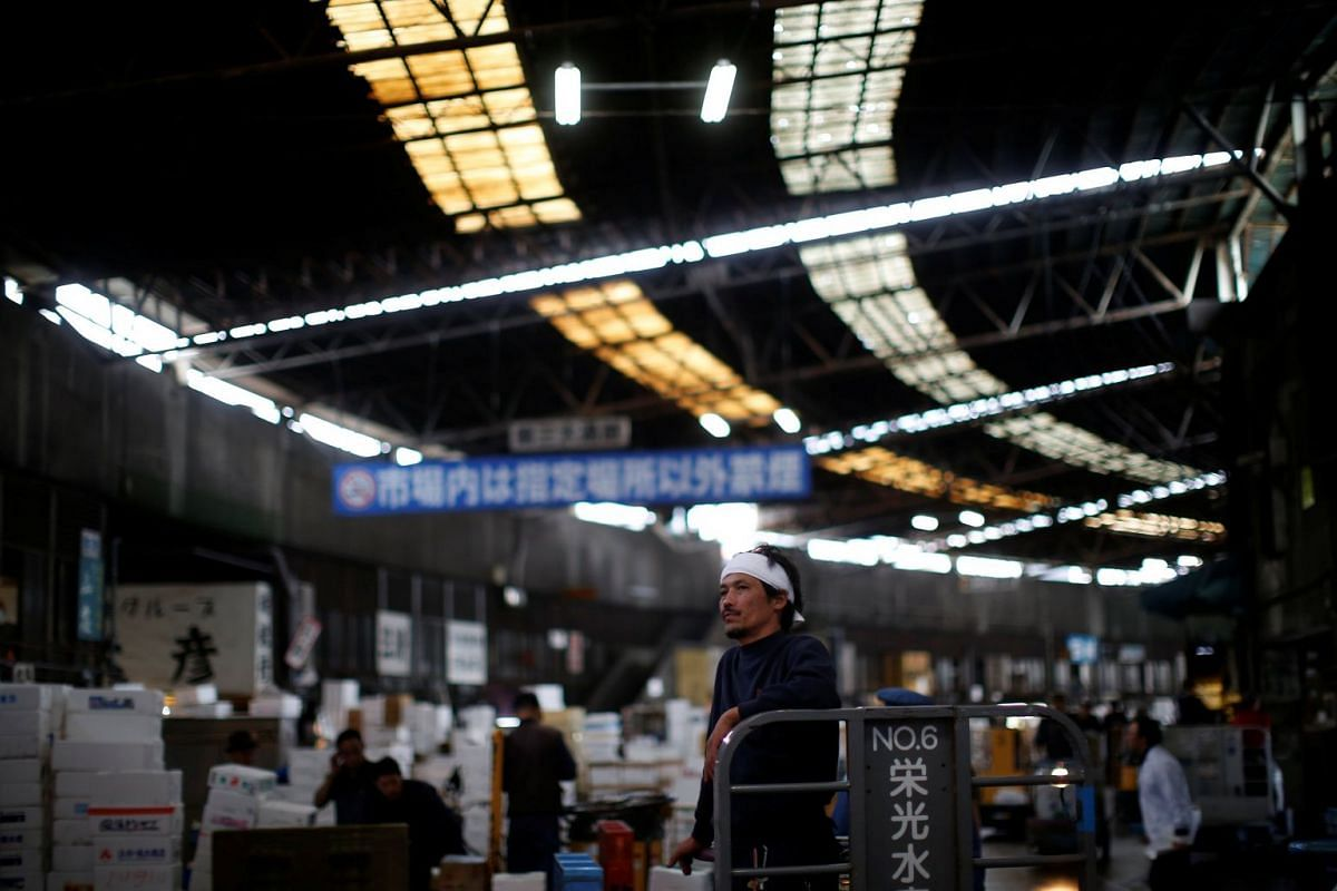 The warehouses that housed vendors, and additional shops and restaurants, are expected to be levelled to make way, initially, for a transport depot for the 2020 Olympic Games.