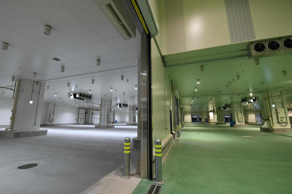 The trading floors of the new market.