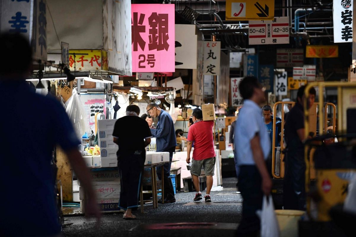 Opened in 1935, Tsukiji is walking distance from the swanky Ginza district, where some of Tokyo's most famed restaurants are located.