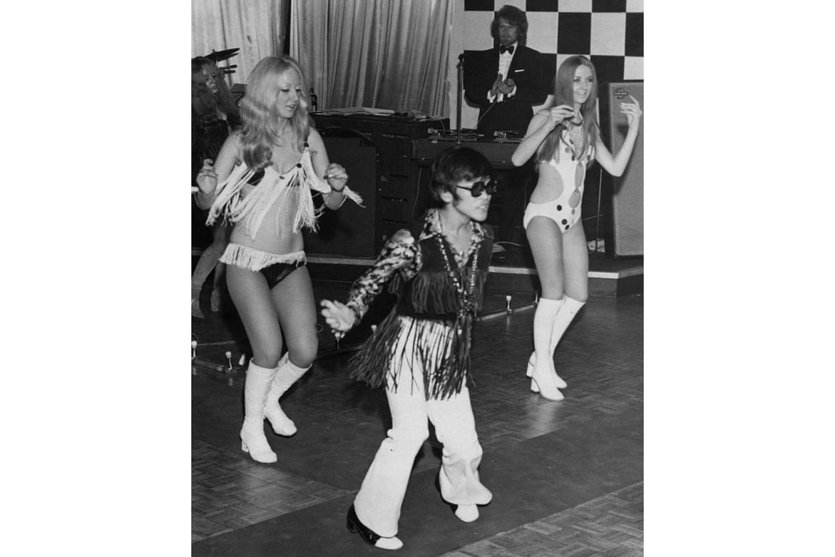 Another look at Soliano's dancing career when he performed in Cavendish, England in 1971.