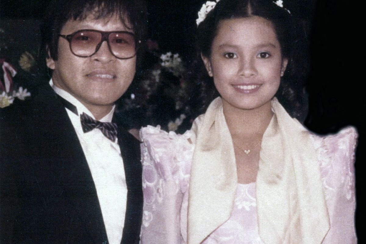 Louis Soliano performed with Filipino star Lea Salonga at the Asean show at the World Trade Centre in Singapore in 1993.