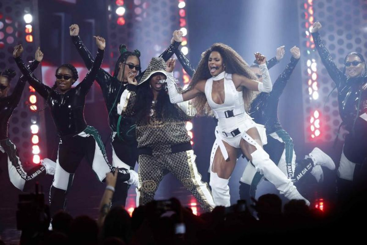 Missy Elliott and Ciara perform at the show in Los Angeles, California, US, on Oct 9, 2018.
