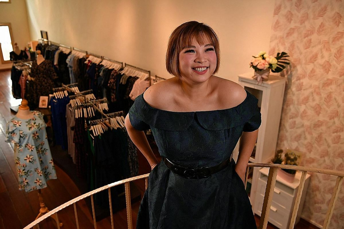 Plus-size models in Singapore include makeover stylist Fiona Tan (above), who topped an international pageant for plus-size women in Latvia two years ago; and make-up artist Priscilla Boh (below).