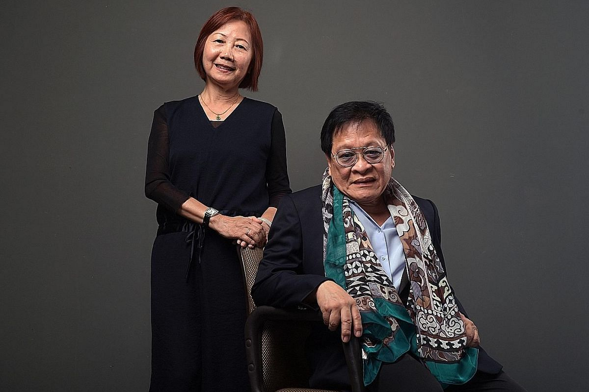 Low Mei Yoke of Frontier Danceland is being recognised for her work as one of Singapore's pioneer choreographers and Louis Soliano is the second jazz musician to receive Singapore's highest honour in arts.
