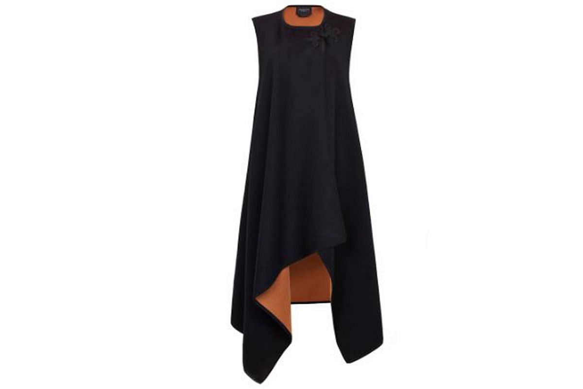 DOUBLE FACE WOOL VEST From Shanghai Tang, $1,703