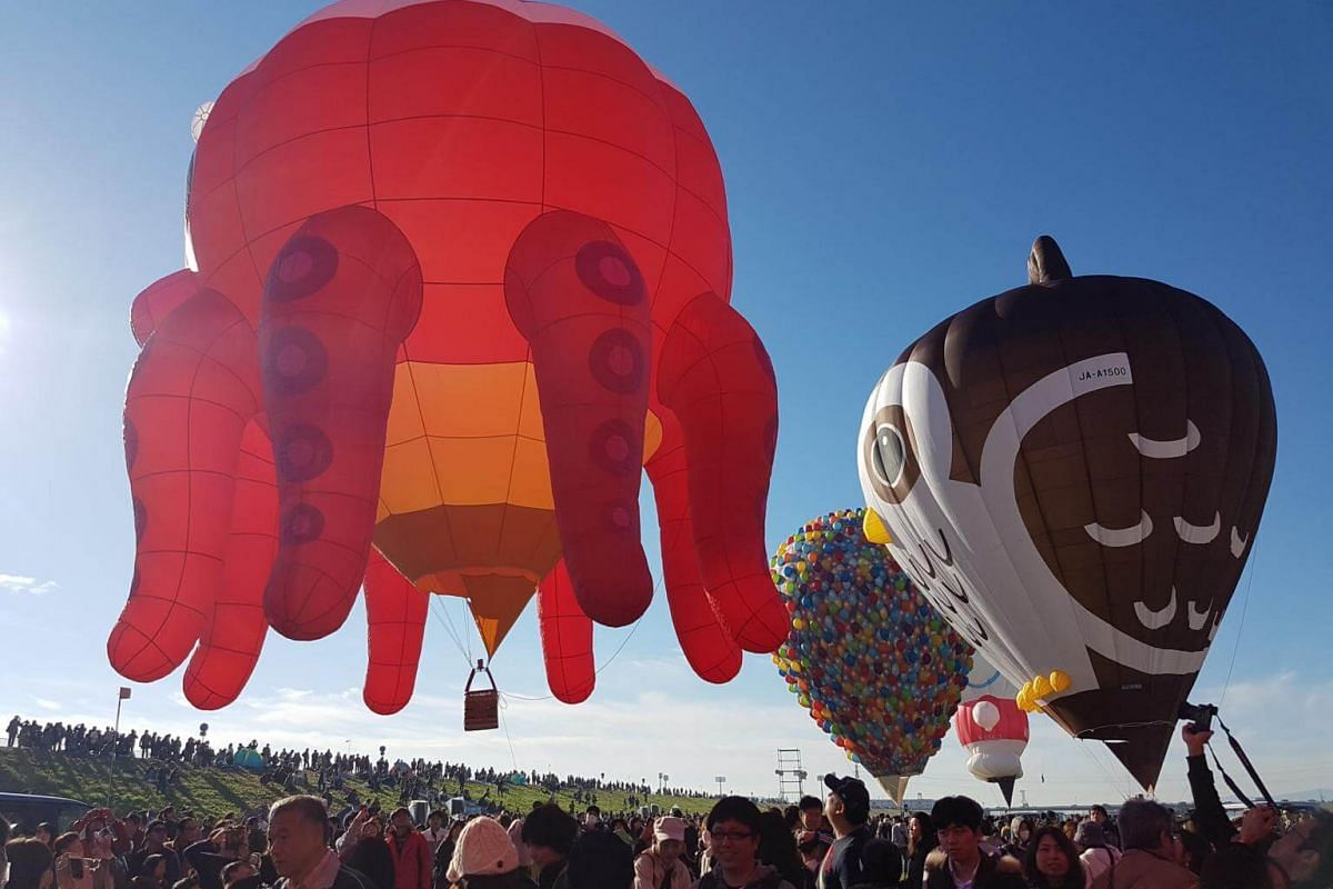 A total of 16 unique balloons participated in the Balloon Fantasia segment.