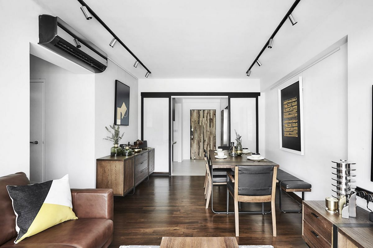 Electronics retailer Gain City is bringing its shoppers into a four-room HDB flat in Punggol to show them how its products will look in a lived-in home setting.