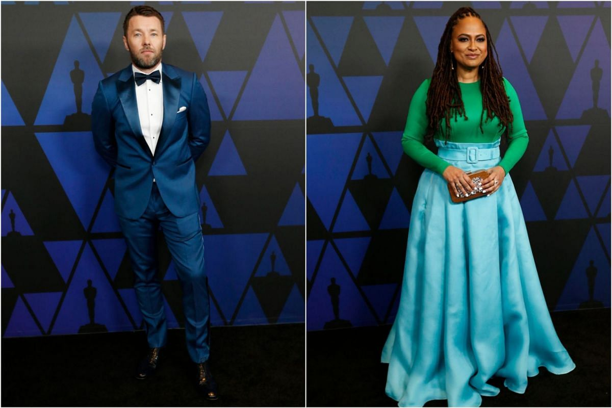 Australian actor-director Joel Edgerton and American film director Ava DuVernay.