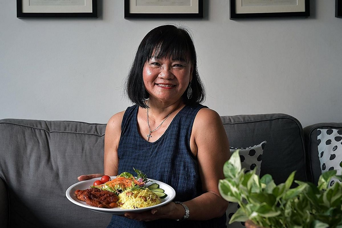 Paprika chicken was Madam Jenny Peck's best-selling item when she was running her now-defunct cafe at Biopolis.