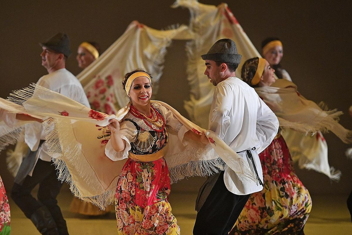 A traditional Russian dance item called Woodchoppers And Swans was performed as part of a cultural showcase at the University Cultural Centre last Sunday.