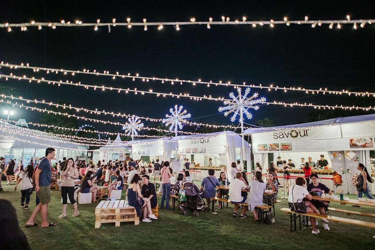 The Savour Gourmet Festival serves gourmet food by some of Singapore's trendiest restaurants, with prices from $6.