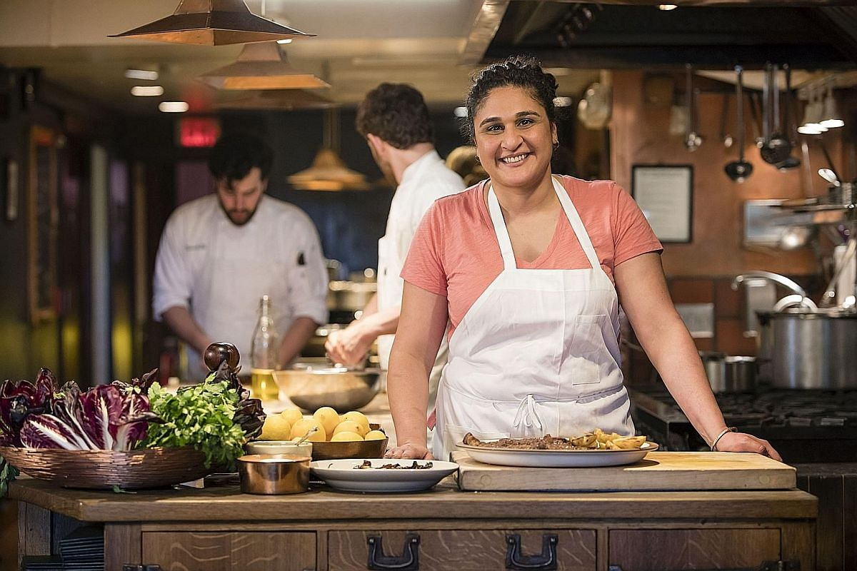 Author Samin Nosrat plans to take time off next month to cook and figure out what to do next.