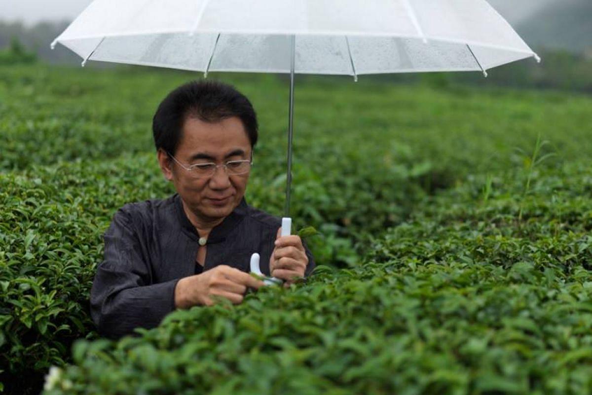Mr Liu Han-chieh opened the first Chun Shui Tang bubble-tea shop in Taichung, Taiwan, in 1983.