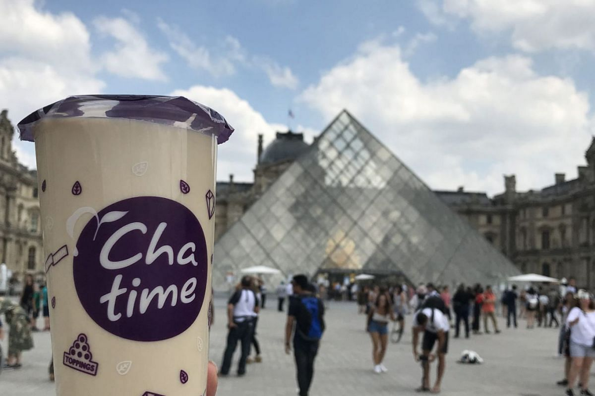 Chatime, one of Taiwan's top bubble tea brands, made headlines when it opened a shop at Paris' Carrousel du Louvre in July last year.
