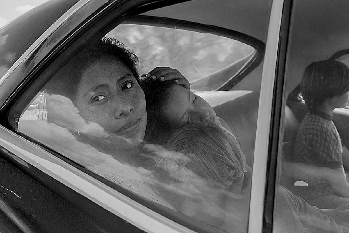 Roma revolves around a man's memories of growing up in Mexico City with a domestic helper of another race and culture.