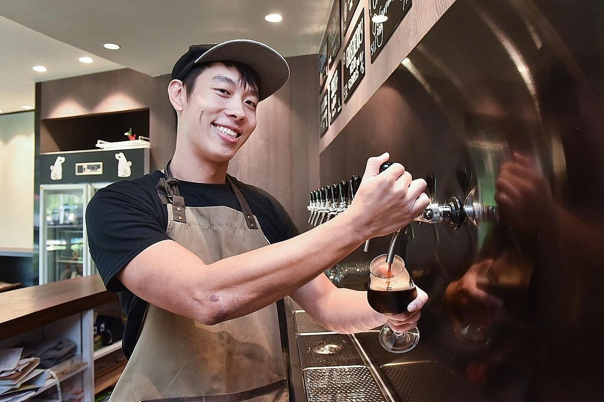 Orh Gao Taproom's manager Samuel Low wants to build a community of drinkers who appreciate craft beer together.