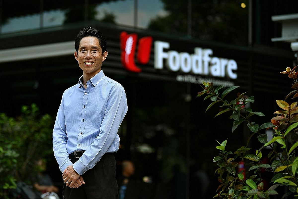 NTUC Foodfare chief executive Perry Ong says that for the past five to six years, Foodfare has not raised rents for many of its foodcourt tenants.