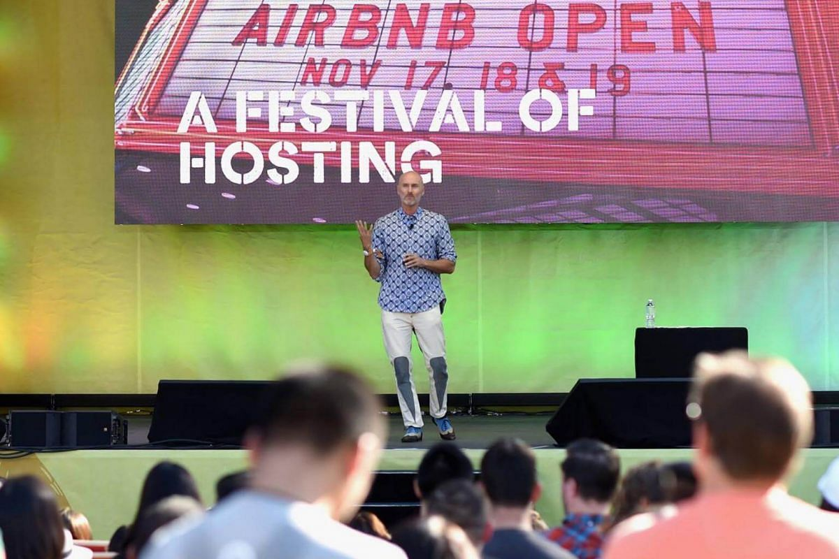 """At 52, Chip Conley took on a new job at Airbnb, toggling between being a mentor and an intern in a role that he described as """"modern elder."""""""