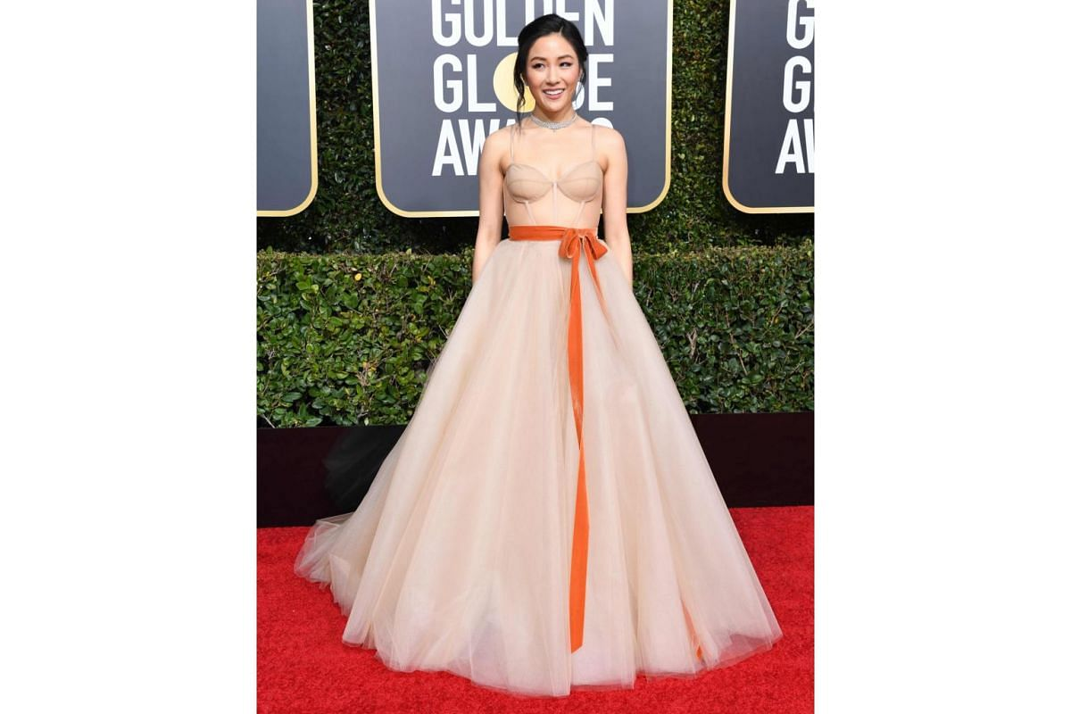 Best Actress in a Movie (Musical or Comedy) nominee Constance Wu.