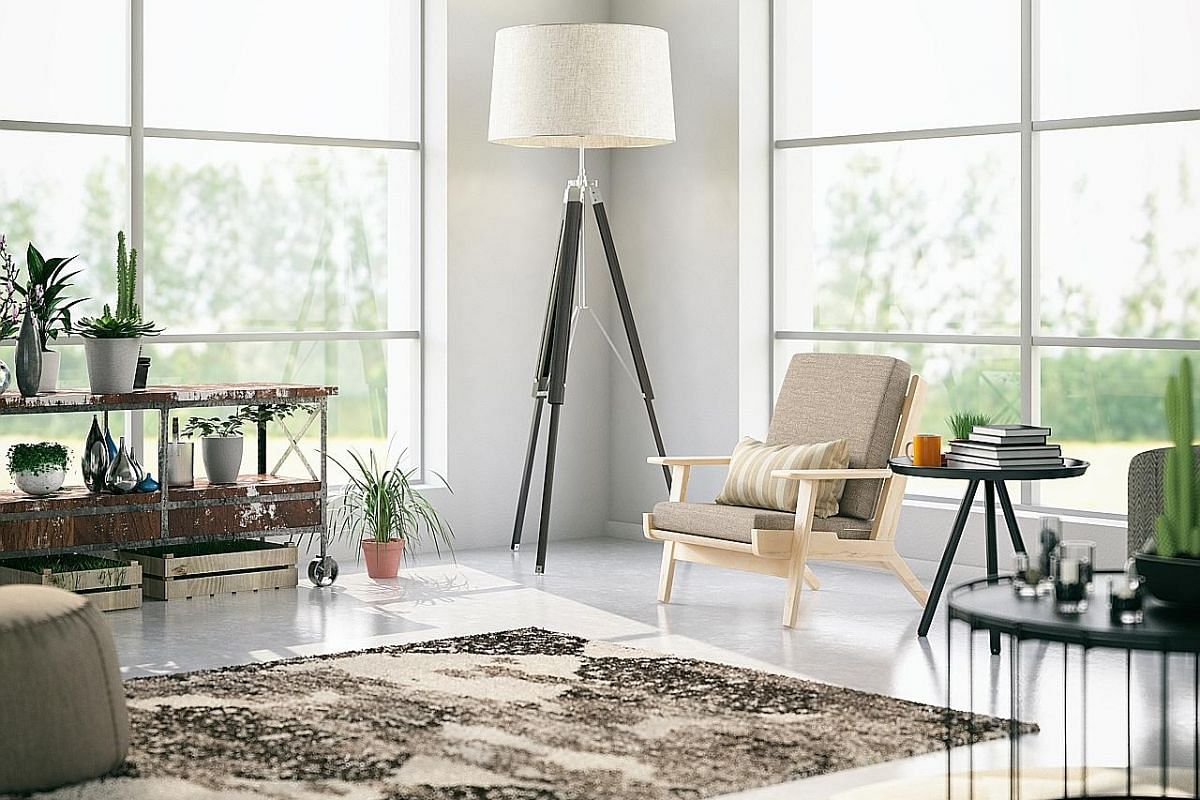 Keep your living room spick and span by vacuuming rugs, seats and cushions once a week.