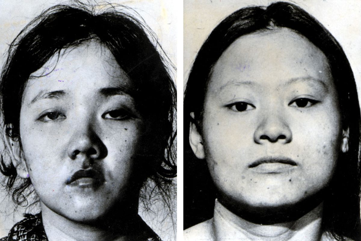 Sister Gerard wanted Catherine Tan Mui Choo (left) and Hoe Kah Hong to have dignity in death, and sought permission for them to wear dresses at their hanging, instead of the beige prison attire.