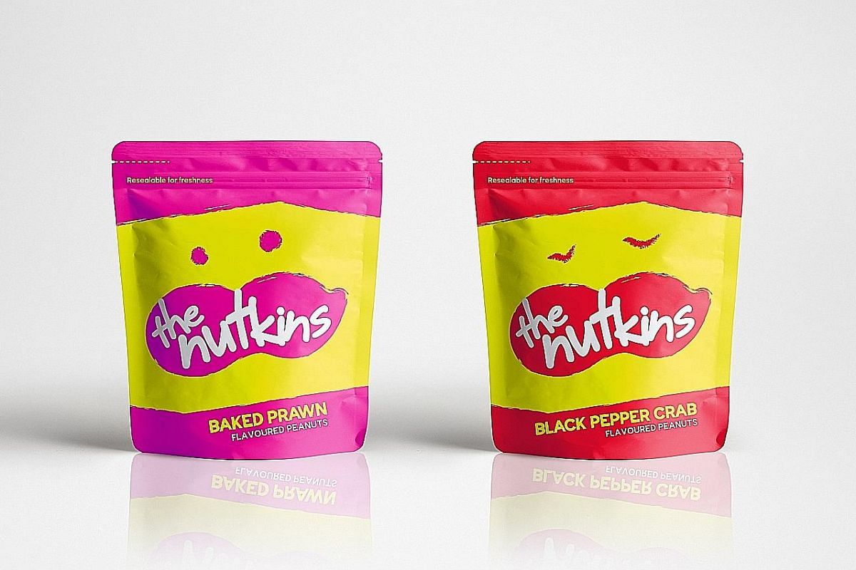 The Nutkins has launched two new flavours – Black Pepper Crab and Baked Prawn ($5 each).