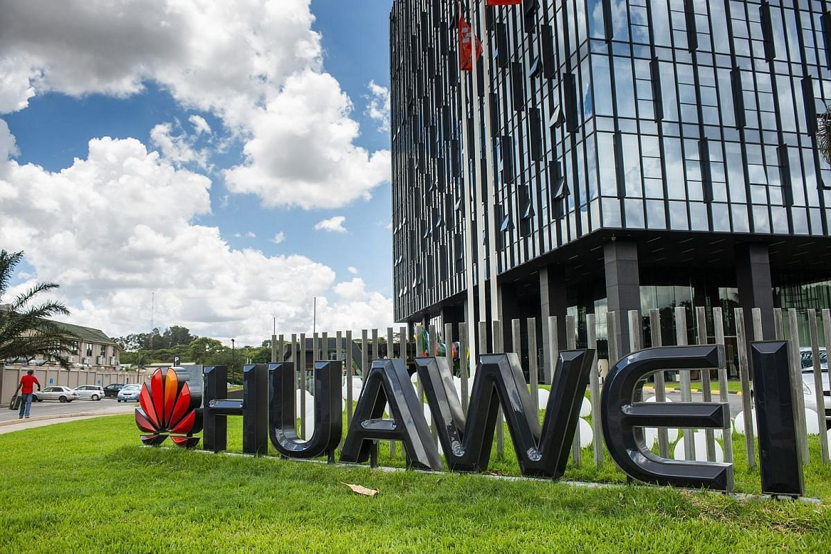 Huawei's offices in Lusaka, Zambia. By 2004, the company had embarked on its push into overseas markets, backed by credit from China's state banks.
