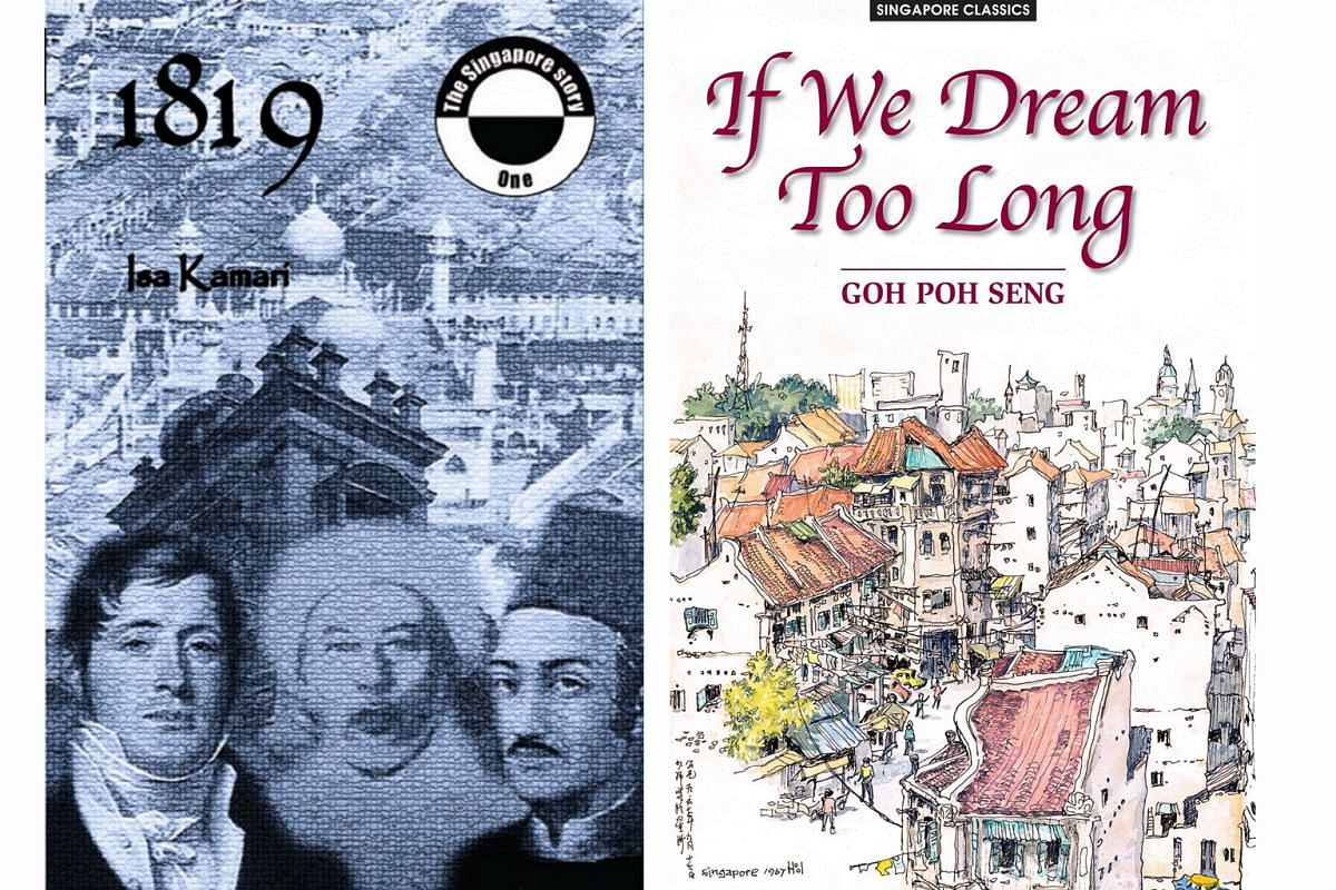 (Left) 1819. (Right) If We Dream Too Long.