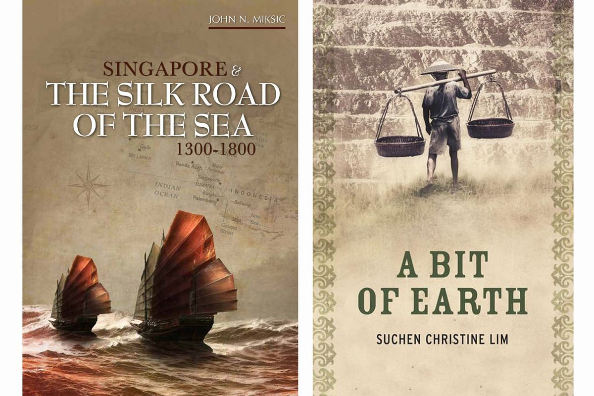 (Left) Singapore And The Silk Road Of The Sea: 1300 - 1800. (Right) A Bit Of Earth.
