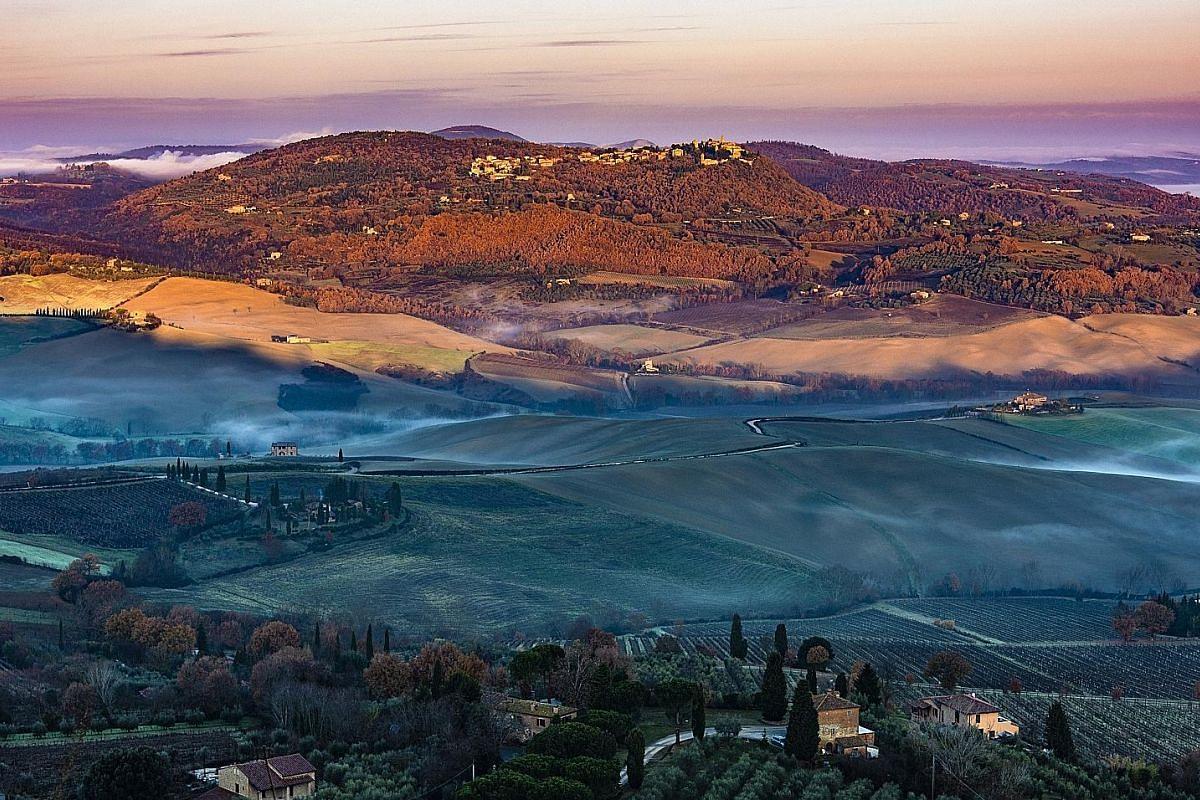 Montepulciano, Tuscany, Italy.