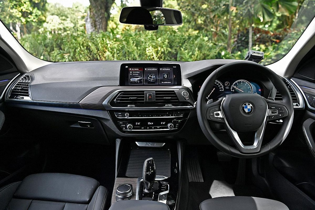 With its cushy seats, generous footwell and driver-centric cockpit, the BMW X4 is ideal for long hauls.