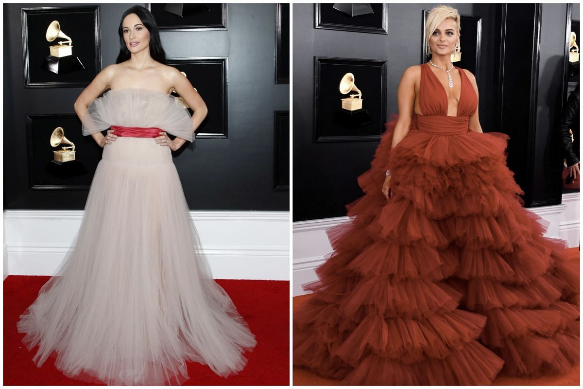 Kacey Musgraves (left) and Bebe Rexha.