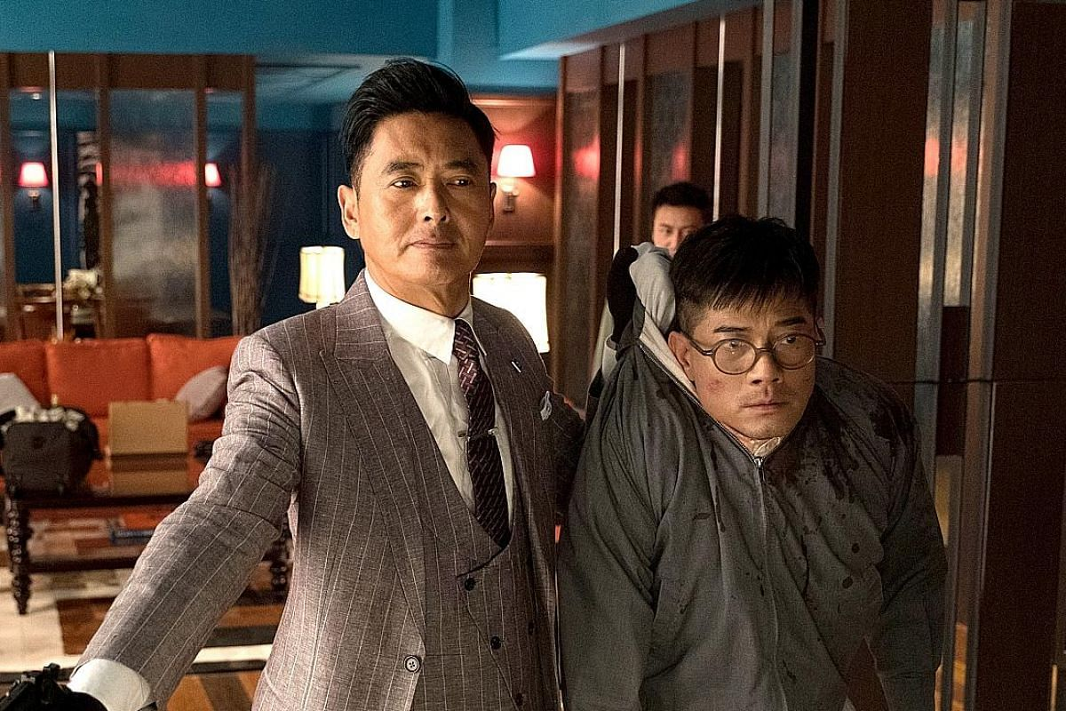 Aaron Kwok picked up Golden Horse Best Actor awards for his roles as a cop in Divergence (2005, left) and a deadbeat father in After This Our Exile (2006, below). Kwok is up against his Project Gutenberg (2018) co-star Chow Yun Fat (both left) for Be