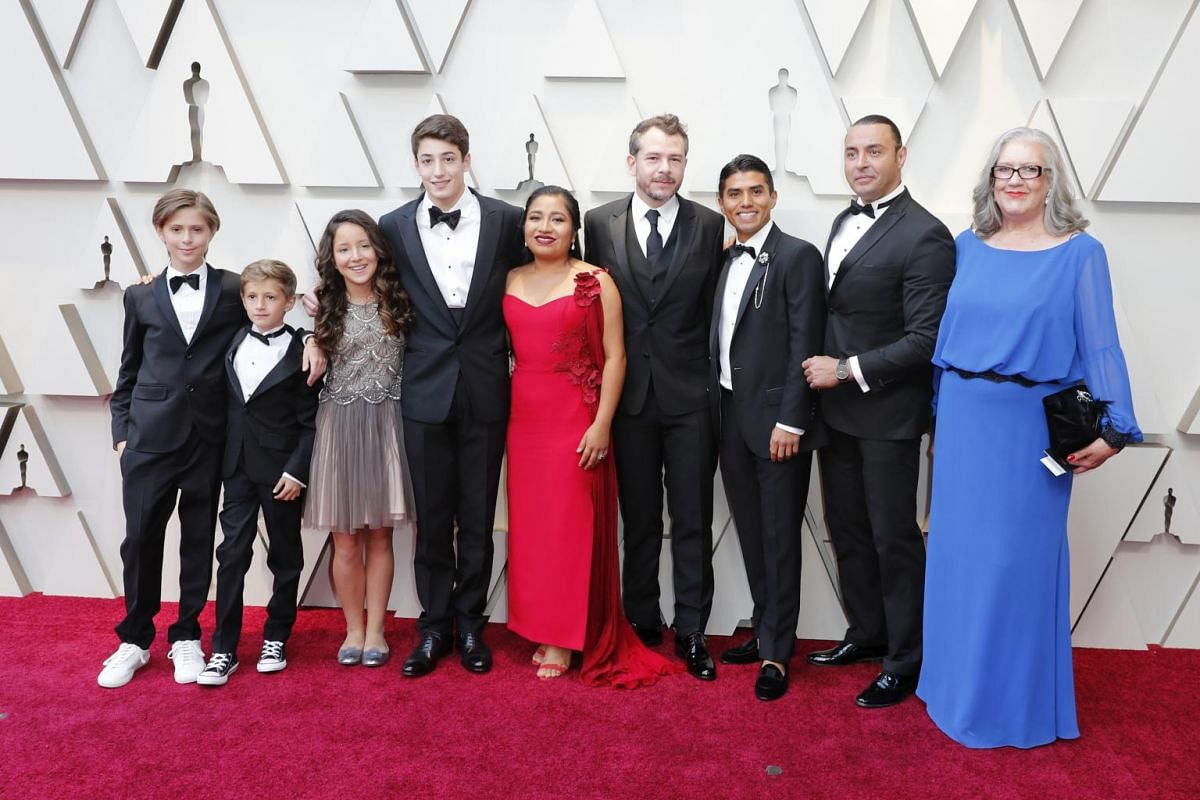 Members of the cast of Roma.