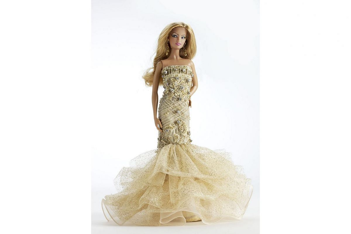 A 2009 Tangs limited-edition Barbie. In collaboration with Mattel, fashion brands sold in the department store - including Daniel Yam and Island Shop - designed 30 dresses for Barbie, each reflecting their brand personality.