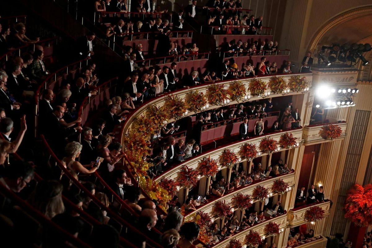 """The Opera Ball in Vienna is said to be """"an extremely popular event where cultural icons from all over the world come together to celebrate"""", according to its website."""