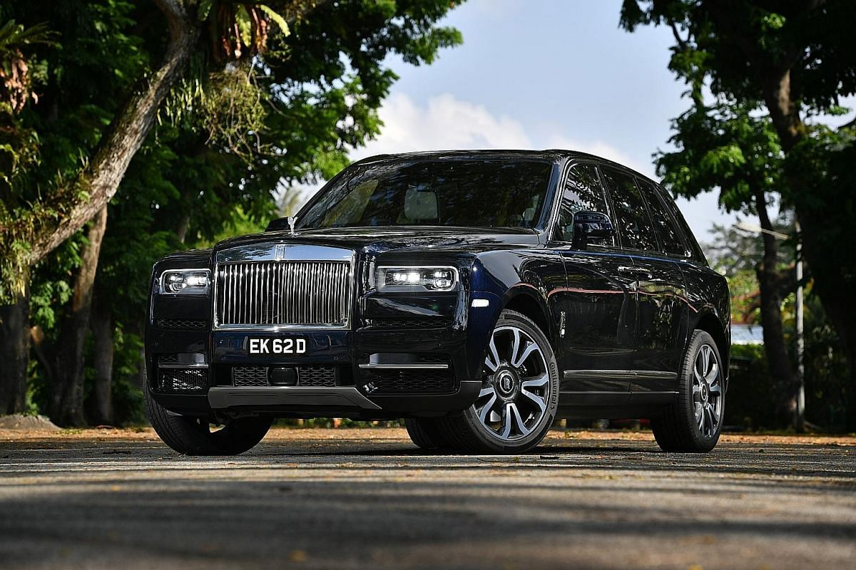 The Rolls-Royce Cullinan is powered by a twin-turbocharged 6.7-litre V12 which makes 563bhp and 850Nm.