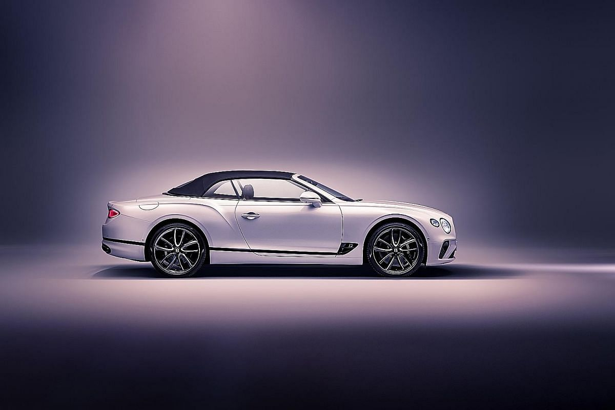 The Bentley Continental GTC's 6-litre 12-cylinder engine delivers 900Nm of torque between 1,350rpm and 4,500rpm, with help from a pair of twin-scroll turbochargers.