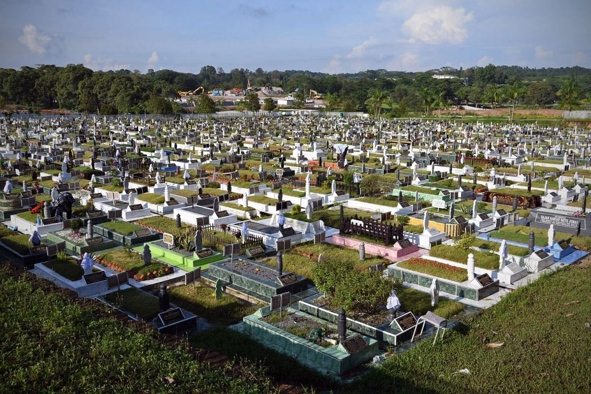 The Pusara Aman Cemetery in Lim Chu Kang is one of the last resting places for Muslims in Singapore.