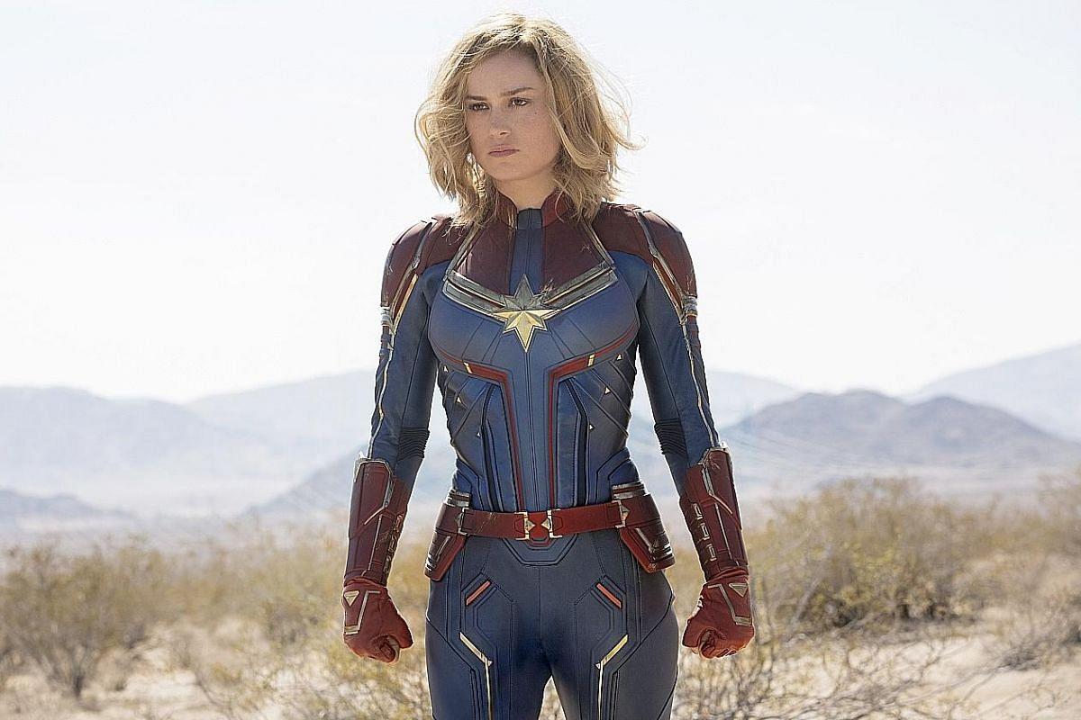Captain Marvel (Brie Larson).