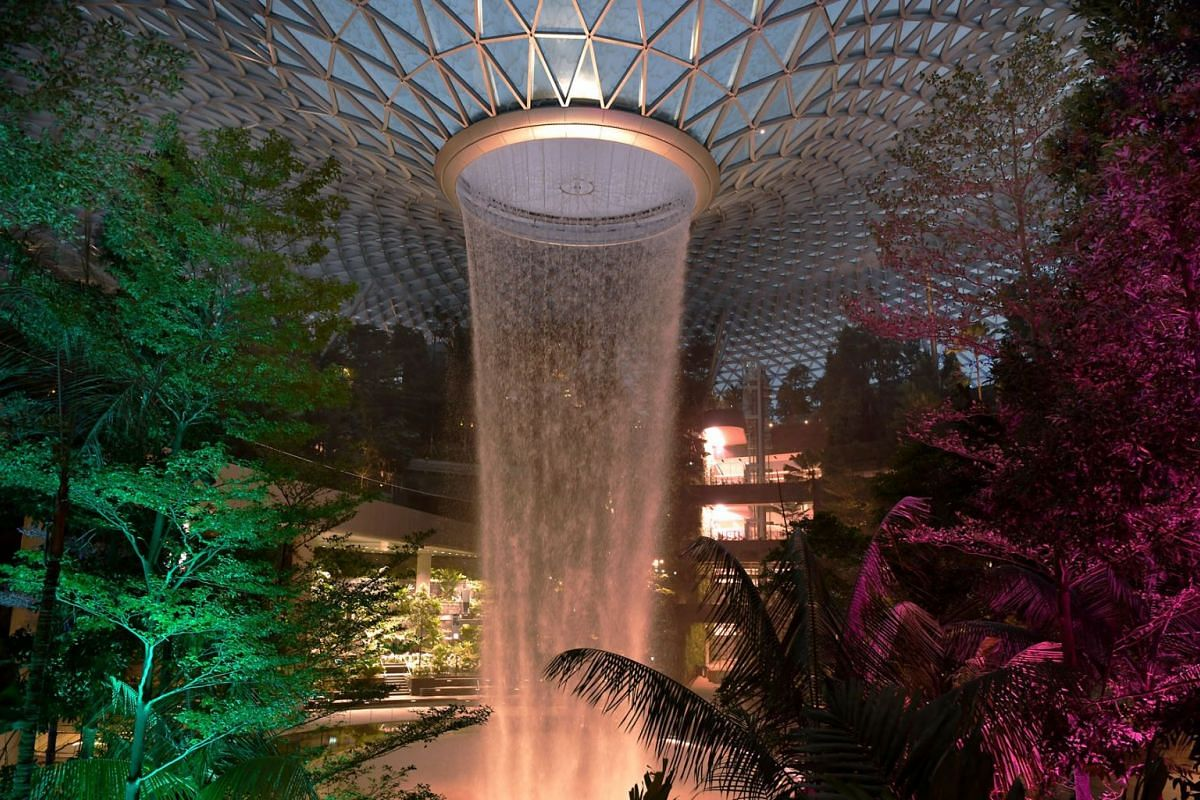 April 17 has been marked for the opening of Changi Airport's Jewel, the $1.7 billion mega-retail and aviation development which boasts the world's tallest indoor waterfall. But 500,000 Singapore residents can get a sneak peek of the 10-storey com