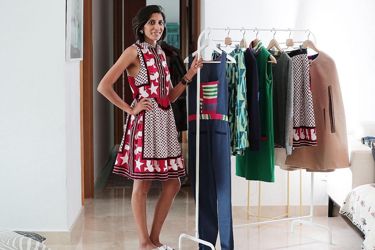 Kenyan Rakhee Shah is the founder of womenswear label Maisha Concept, which features contemporary clothing made with fabrics sourced from African countries, including Ethiopia and Ghana. OliveAnkara, founded by Italian-Nigerian designer Ifeoma Ubby,