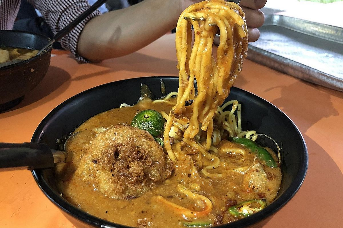 Yunos N Family's mee rebus comes in a generous serving.