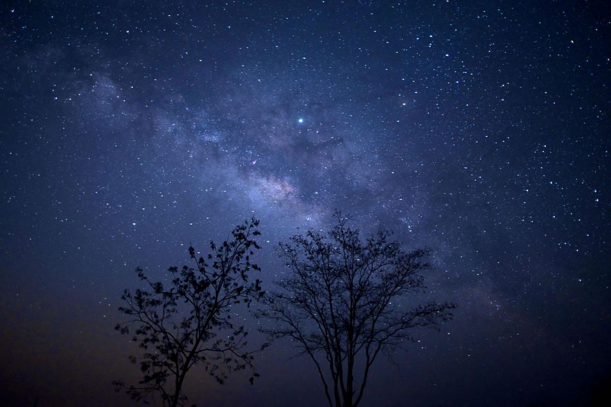 This long-exposure photograph shows the Milky Way above Taungdwingyi, nearly 100km from Naypyidaw, Myanmar, on early March 10, 2019. PHOTO: AFP