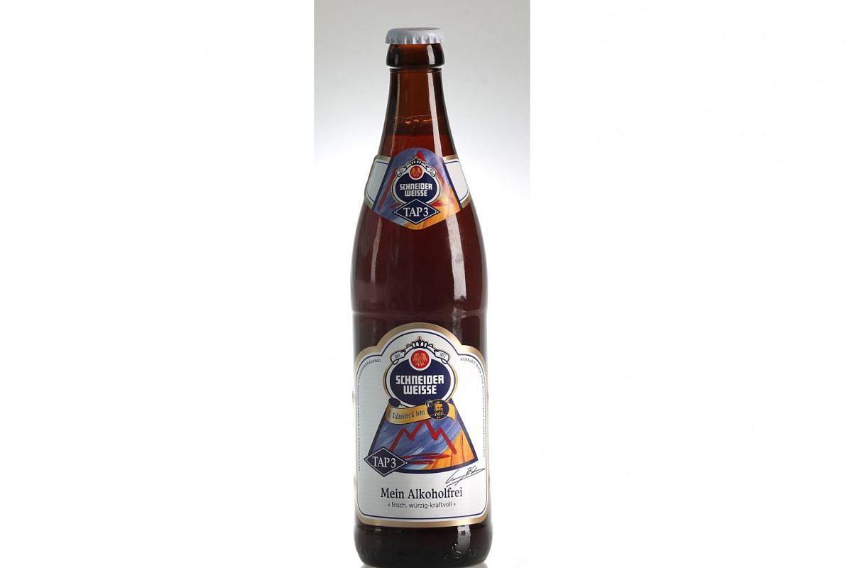 Schneider Weisse Tap 3 Mein Alkoholfrei Alcohol Free Beer (Germany)