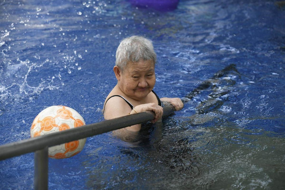Residents of St Bernadette Lifestyle Village, an assisted living facility, at one of their regular activities.