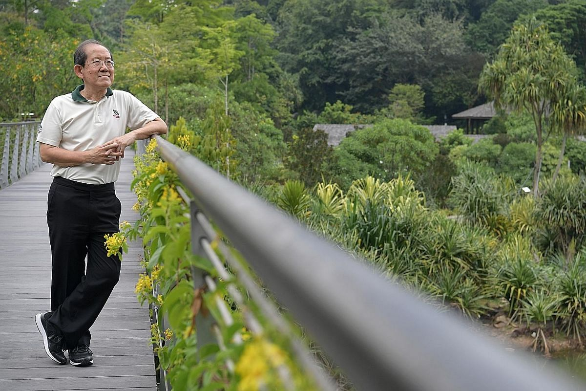 Deputy chief executive Leong Chee Chiew says NParks hopes to turn Singapore into a biophilic city over the next 10 years.