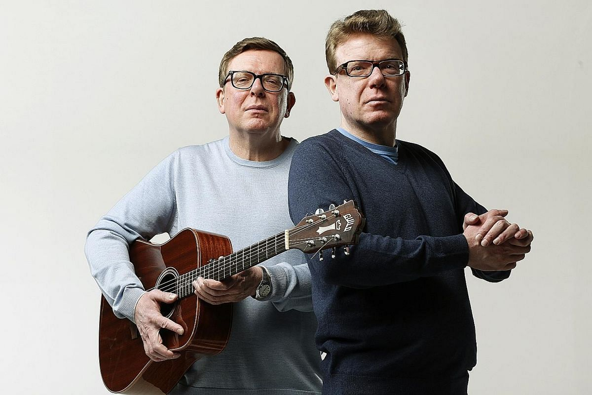 Scottish twins Craig and Charlie Reid formed The Proclaimers, best known for super-catchy hit I'm Gonna Be (500 Miles), in 1983.