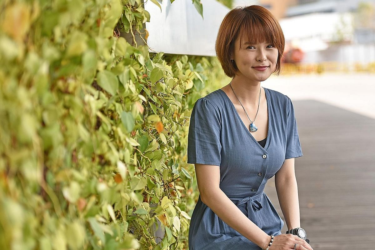 """Jayley Woo says she is """"becoming stronger and learning to switch off some thoughts and emotions at work or around people""""."""